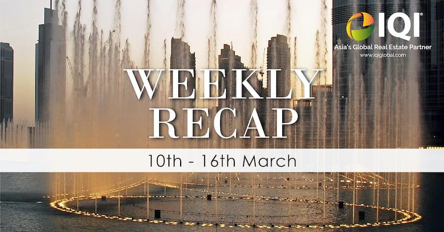 Bản tóm tắt hàng tuần của IQI Dubai từ ngày 10 đến ngày 16 tháng 3