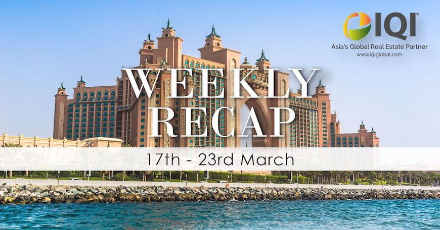 Bản tóm tắt hàng tuần IQI Dubai từ ngày 17 đến ngày 23 tháng 3 năm 2018