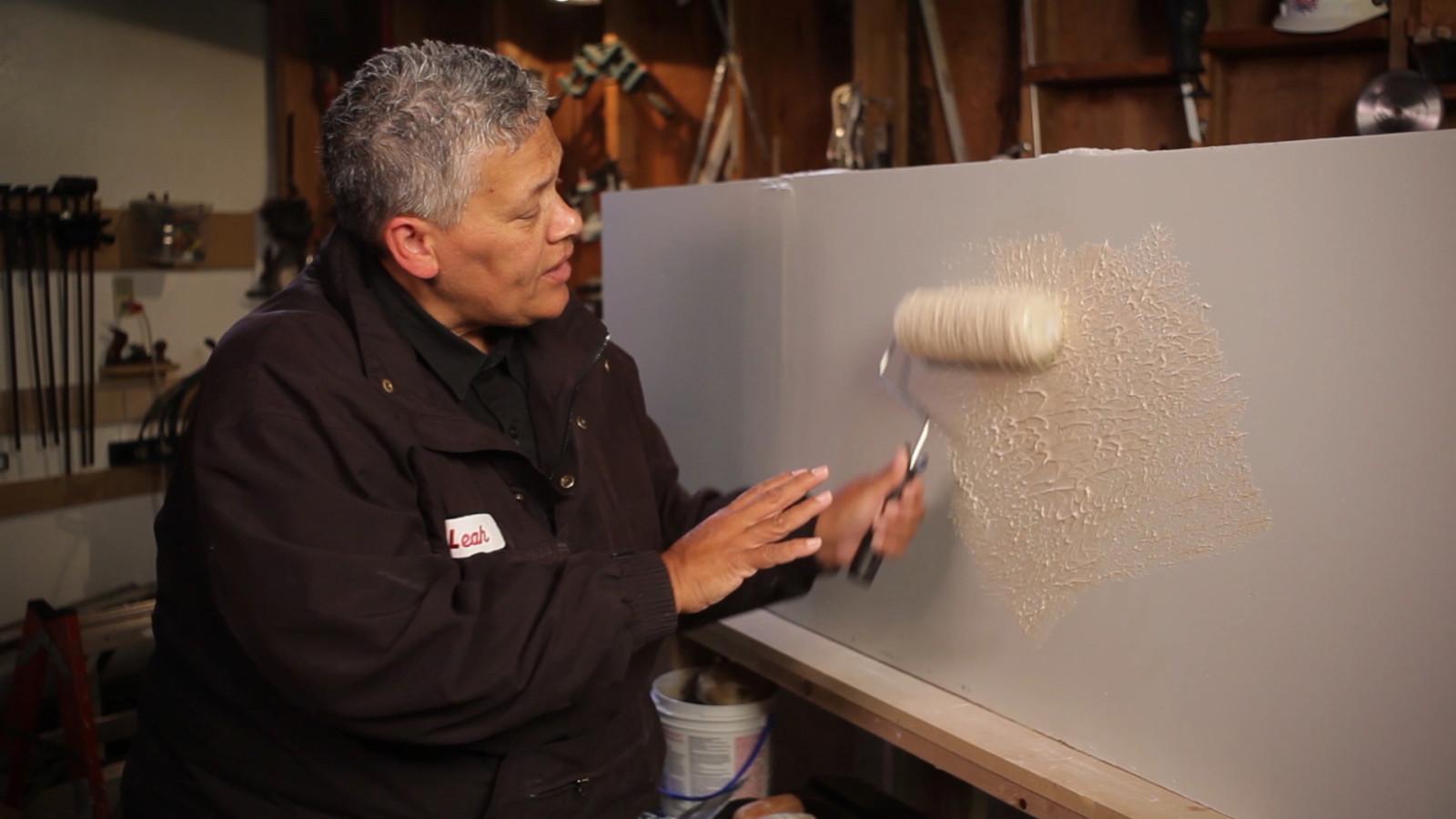 Hướng dẫn cho người mới bắt đầu để tạo họa tiết cho tường và trần nhà