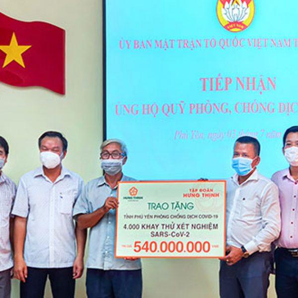 Tập đoàn Hưng Thịnh trao tặng thiết bị y tế cấp thiết đến tỉnh Phú Yên – Tập đoàn Hưng Thịnh