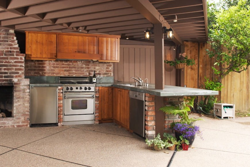 Cách tạo nhà bếp ngoài trời tuyệt vời của bạn