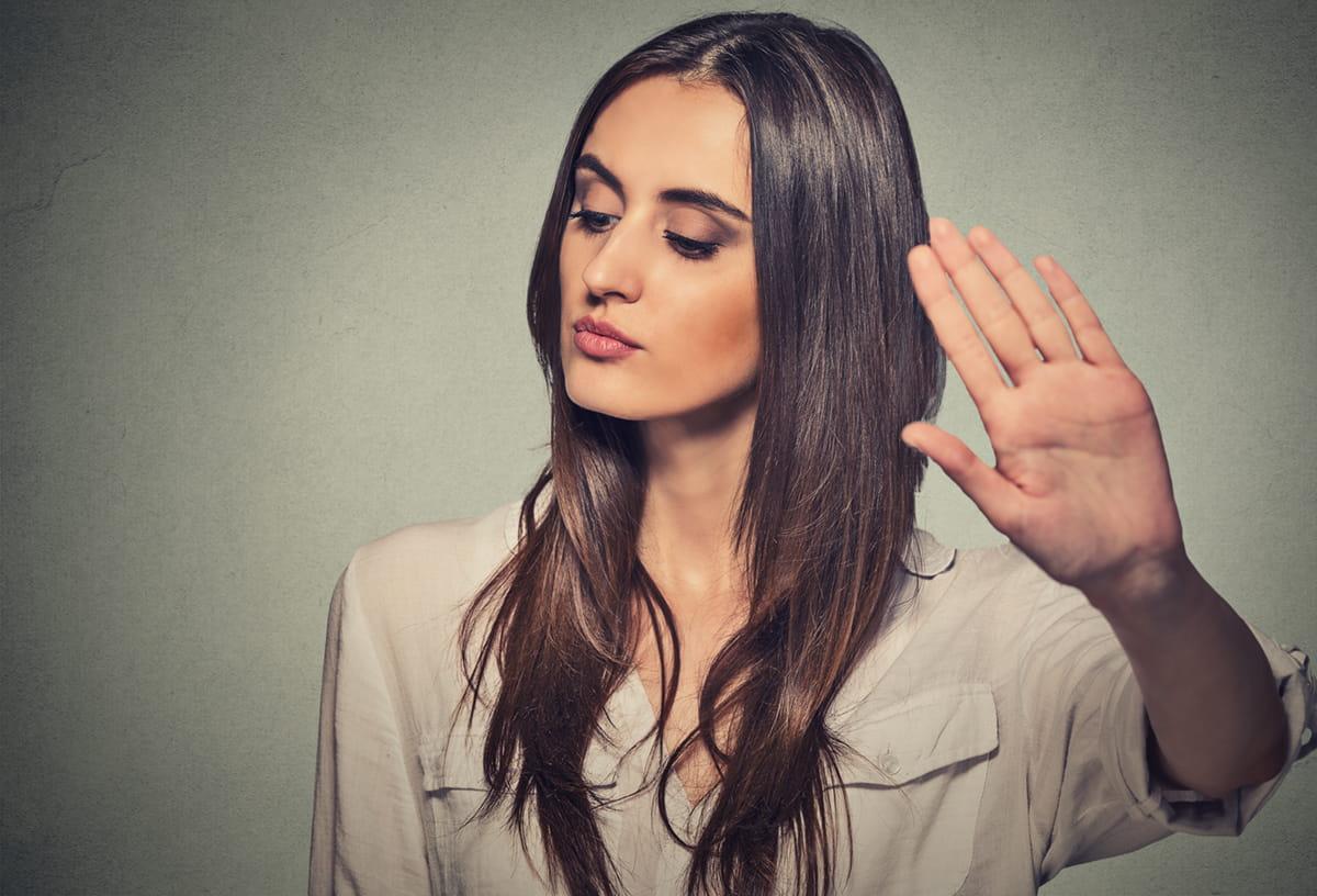 Đối phó với một người bán 'Chỉ không quan tâm đến bạn'