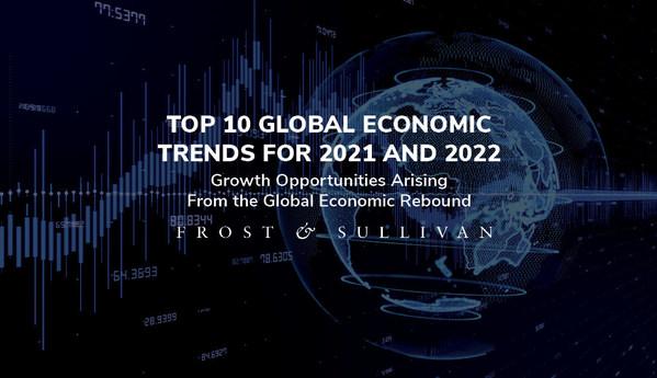 Frost & Sullivan tiết lộ 10 xu hướng kinh tế toàn cầu hàng đầu định hình triển vọng tăng trưởng trong năm 2021 và 2022