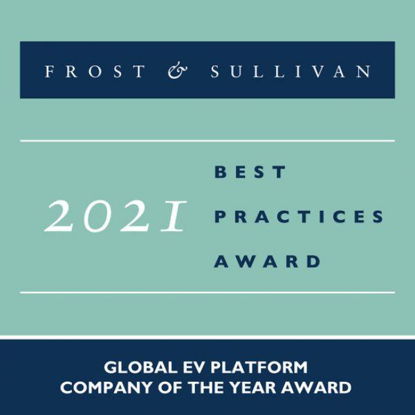 Giải thưởng Frost & Sullivan Nền tảng EV toàn cầu REE Automotive 2021